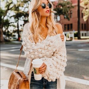 *BNWT* VICI Latest and Greatest Knit Cardigan